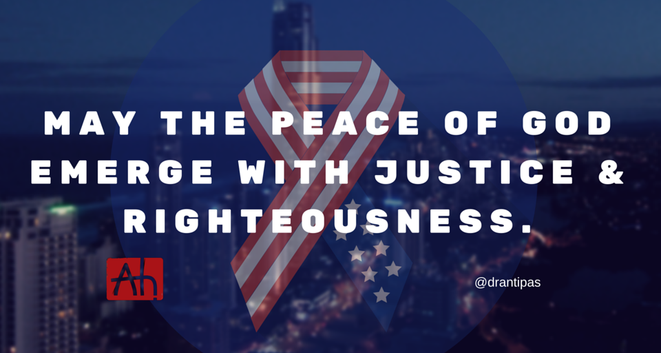 Justice peace and righteousness